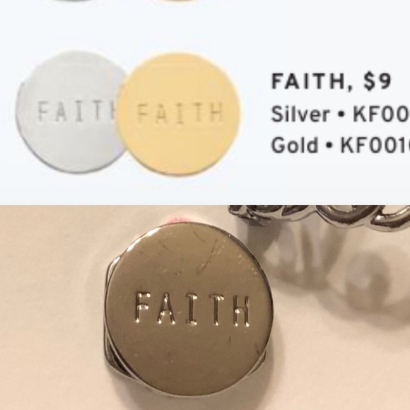 KEEP Collective Jewelry - KEEP Storytellers silver faith key
